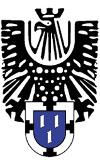 Logo der Alten Allgemeinen - Schützenadler mit Wappen der Stadt Bottrop