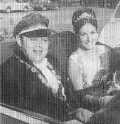 Königspaar Rudi I. und Lis I.