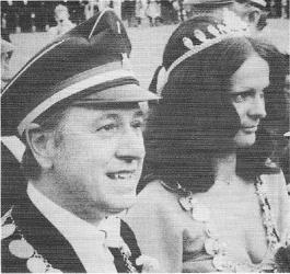 Franz-Ernst I. (Stammkötter) und Liane I. (Tiemann)